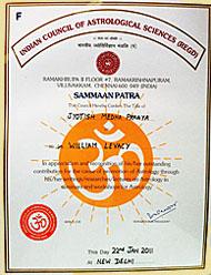 Jyotish Medha Pragya Award