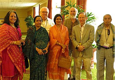 Sutton, Gayatri Devi, Levacy, Shambhavi, Frawley, Flaherty, Ullal